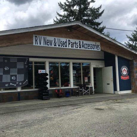 New & Used Parts Adrian's RV Repairs Shop storefront